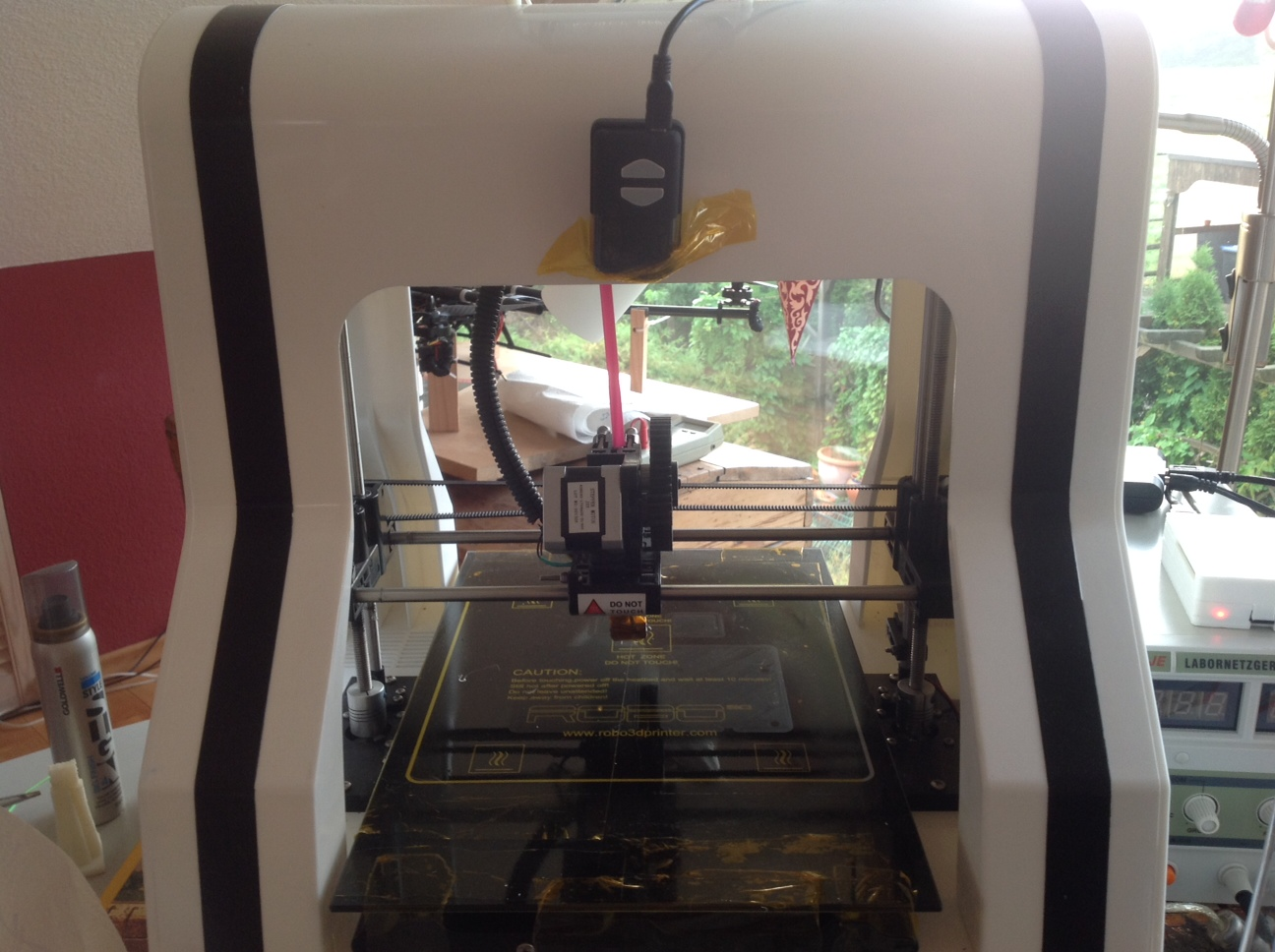Web enabled Robo3d using Raspberry Pi and Octoprint | ROBO